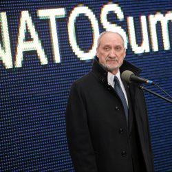 Konferencja Antoniego Macierewicza ws. szczytu NATO