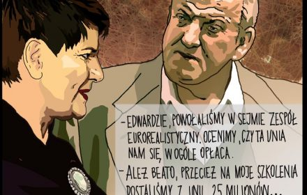 Edward Szydło i jego maszynka do zarabiania pieniędzy z unijnej kasy [Weekend z Mikołajewską]