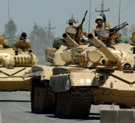 90 proc. przeciwko inwazji na Irak