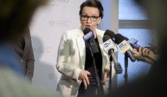 Minister edukacji narodowej Anna Zalewska w Rzeszowie