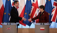David Cameron w Polsce