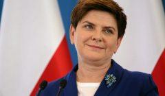 Premier Beata Szydlo podczas prezentacji programu Mieszkanie +