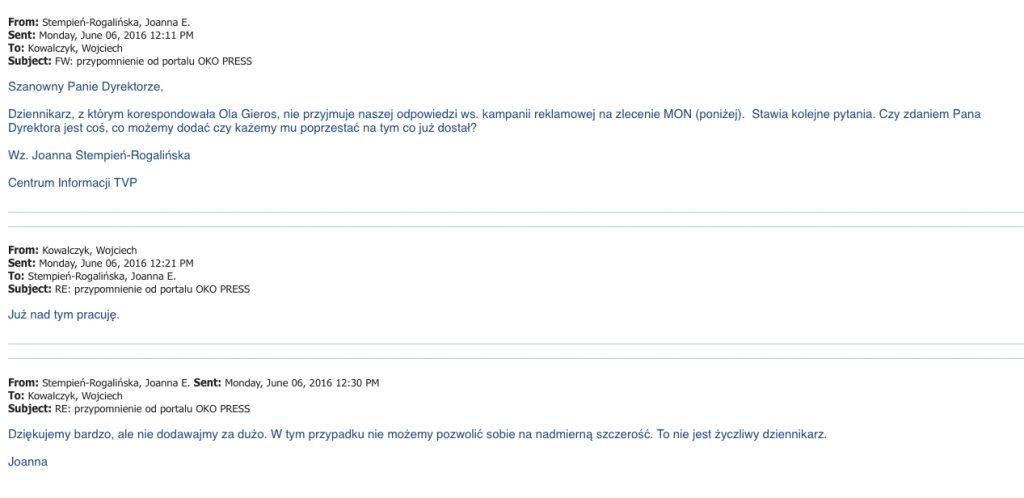 maile z TVP