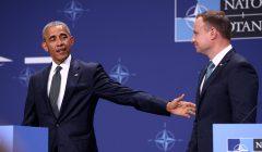 Pierwszy dzien szczytu NATO w Warszawie