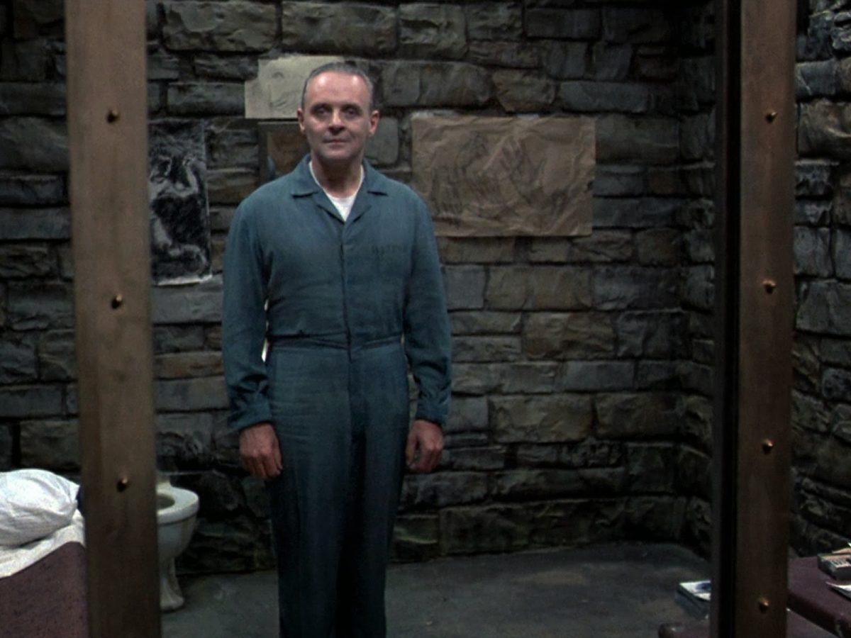 Anthony Hopkins jako dr Hannibal Lecter, szalony morderca-kanibal
