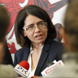 Minister Strezynska w Toruniu