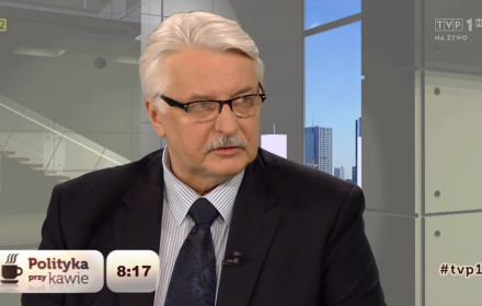 """""""Polityka przy kawie"""", TVP1"""