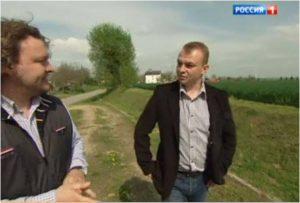 Mirosław Majkowski w telewizji Rossija