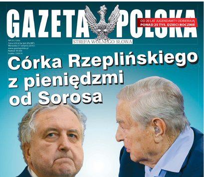 """okładka """"Gazety Polskiej"""""""