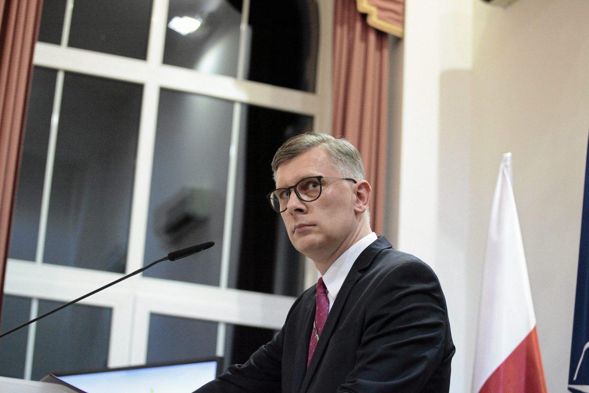 Sławomir Cenckiewicz, niegdyś historyk IPN, obecnie dyrektor Centralnego Archiwum Wojskowego Fot. Dawid Zuchowicz / Agencja Gazeta