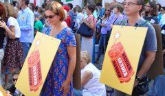 Demonstracja Stop Deprawacji w Edukacji, Warszawa, 30.08.2015. Fot. Elżbieta Korolczuk