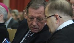 Minister Jan Szyszko i o. Tadeusz Rydzyk fot. WSKSiM