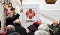 Sniadanie wielkanocne dla naubozszych w Caritas w Sopocie
