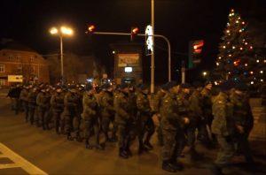 Przemyśl. Marsz Orląt Lwowskich w 2014 r. fot. Youtube