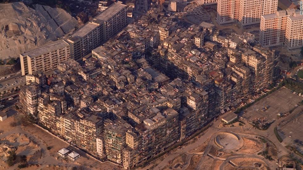 Kowloon Walled City (Miasto Kowloon za Murami) w Hong Kongu