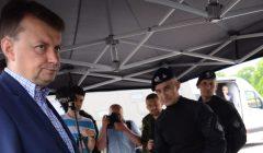 Cwiczenia antyterrorystow przed szczytem NATO w Warszawie