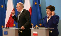 Wizyta Fransa Timmermansa w Polsce