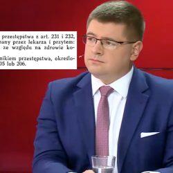 """""""Aborcję dali Polsce sowieci i naziści"""". Wpadka posła Rzymkowskiego"""