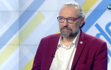Przewodniczący KOD w TVN24