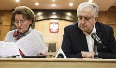 Konferencja prasowa prezesa TK Andrzeja Rzeplinskiego