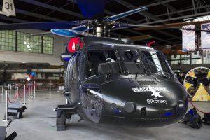 Helikopter Black Hawk podczas obchodow 240 lecia Niepodleglosci Stanow Zjednoczonych . Fot. Michal Lepecki / Agencja Gazeta