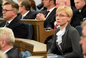 08.11.2011 Senator Beata Gosiewska podczas pierwszego posiedzenia Senatu VIII kadencji FOT. SLAWOMIR KAMINSKI / AGENCJA GAZETA