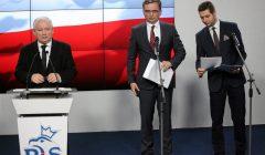 Konferencja Jaroslawa Kaczynskiego