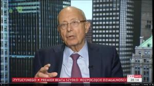 Alfonse D'Amato w TVP Info