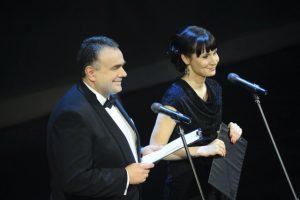 Tomasz Sakiewicz i Katarzyna Hejke