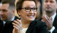 Minister edukacji narodowej Anna Zalewska w Lublinie