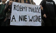 Warszawa , pikieta przeciwko rasizmowi