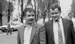 Lech i Jarosław Kaczyński