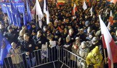 Antyrzadowa demonstracja KOD w Poznaniu