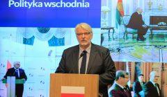 Witold Waszczykowski podsumowuje rok pracy