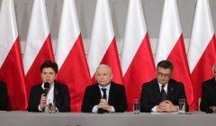 Konferencja prasowa Prezesa PiS