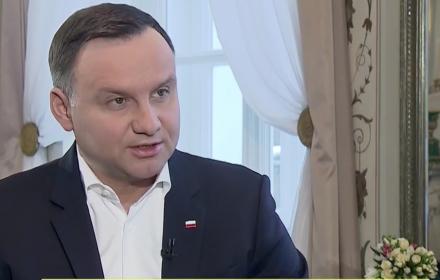 Prezydent w TVN24