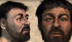 Rekonstrukcja twarzy Jezusa wykonana przez antropologa sądowego Richarda Neave'a na podstawie czaszek z okolic Jerozolimy sprzed 2 tys. lat