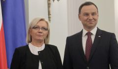 Zaprzysiezenie sedzi Julii Przylebskiej na prezesa TK
