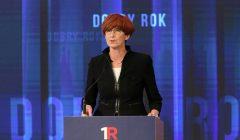 Rok rzadow PiS podsumowuje Premier Beata Szydlo
