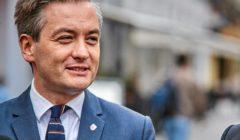 Prezydent Slupska z wizyta w Lodzi