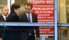 Premier Beata Szydlo w krakowskiej Prokuraturze