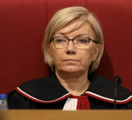 Sfałszowana uchwała pogrąża Przyłębską. Sąd Najwyższy zdecyduje, czy jest czy nie jest prezesem TK