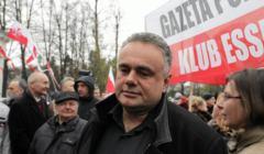 Demonstracja pod ambasada Rosji