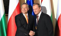 Donald Tusk i Viktor Orban