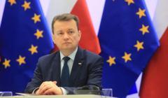 Podpisanie umowy miedzy Polska i agencja FRONTEX