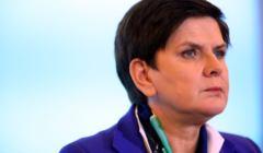 Premier Beata Szydlo wraca do pracy