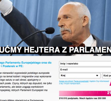 Korwin-Mikke jednoczy przeciwko sobie Europę. OKO.press sprawdza, czy wyleci z europarlamentu