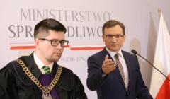 Sędzia Wojciech Łączewski i minister Zbigniew Ziobro