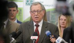 Jan Szyszko z gospodarska wizyta na wyrebie puszczy Bialowieskiej