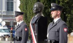 Odsloniecie pomnika sp. prezydenta Lecha Kaczynskiego
